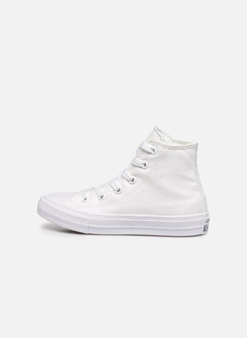 Sneaker Converse Chuck Taylor All Star II Hi weiß ansicht von vorne