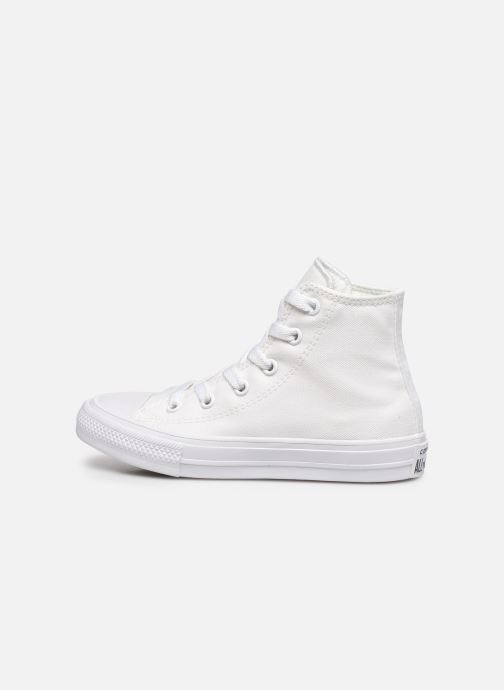 Sneakers Converse Chuck Taylor All Star II Hi Wit voorkant