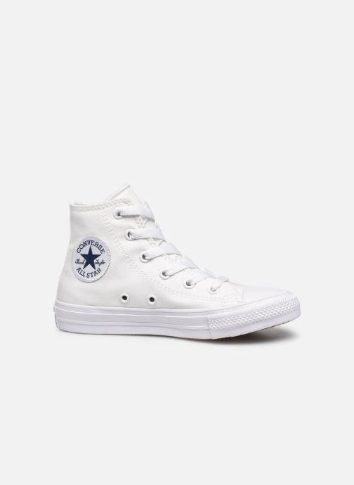 Sneaker Converse Chuck Taylor All Star II Hi weiß ansicht von hinten