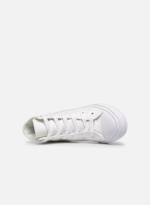 Sneaker Converse Chuck Taylor All Star II Hi weiß ansicht von links