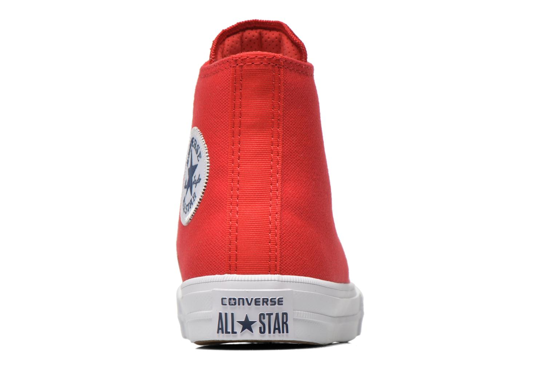 Sneakers Converse Chuck Taylor All Star II Hi Röd Bild från höger sidan
