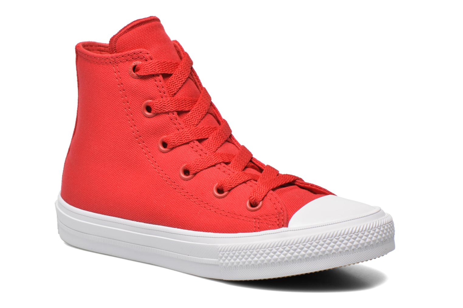 Sneakers Converse Chuck Taylor All Star II Hi Rood detail