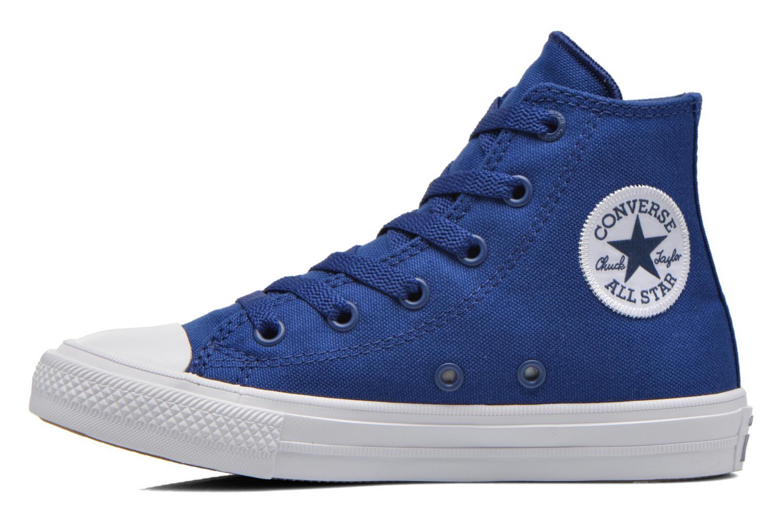 Sneakers Converse Chuck Taylor All Star II Hi Blauw voorkant
