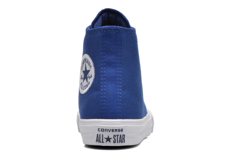 Sneakers Converse Chuck Taylor All Star II Hi Azzurro immagine destra