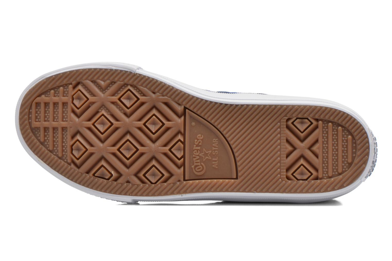 Sneakers Converse Chuck Taylor All Star II Hi Azzurro immagine dall'alto