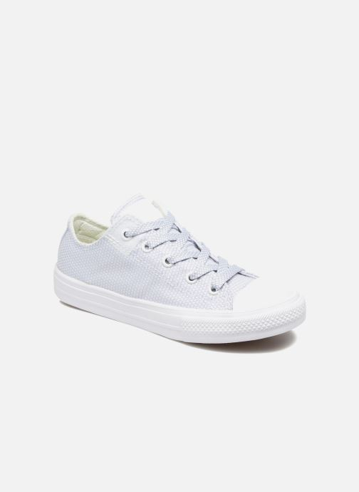 Baskets Converse Chuck Taylor All Star II Ox Bleu vue détail/paire