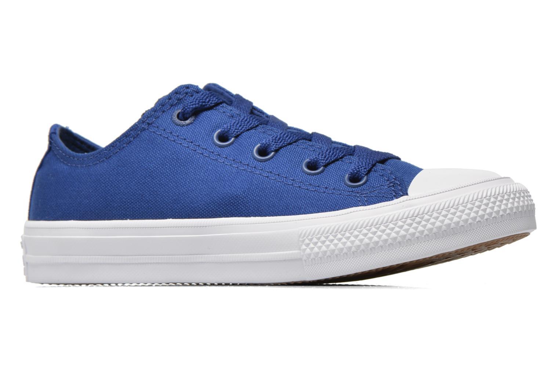 Sneakers Converse Chuck Taylor All Star II Ox Blå se bagfra