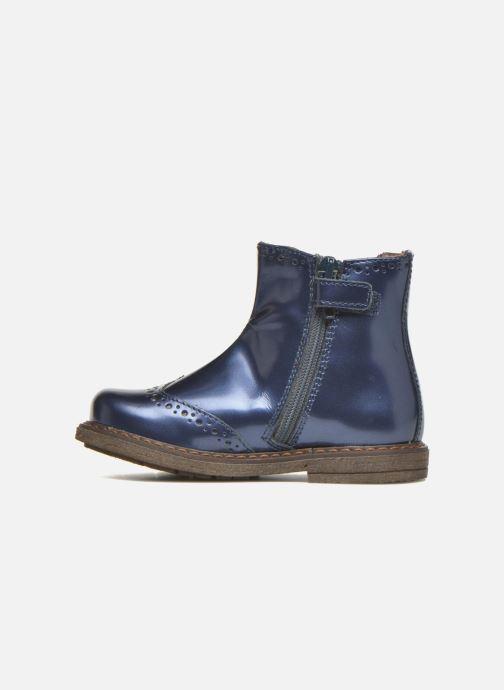 Bottines et boots Stones and Bones Ople Bleu vue face
