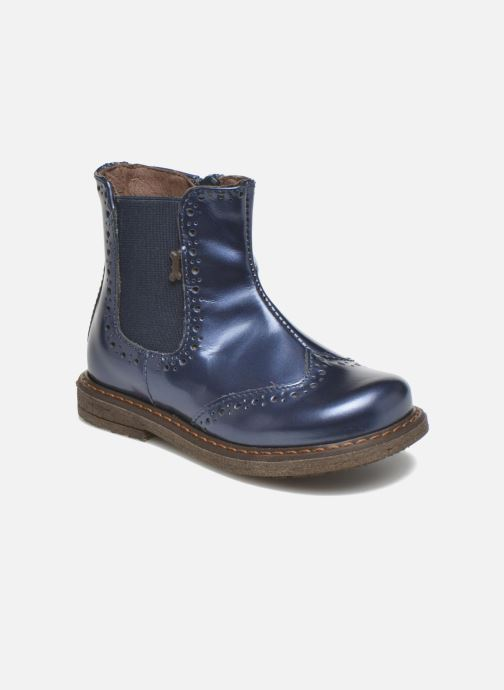 Bottines et boots Stones and Bones Ople Bleu vue détail/paire