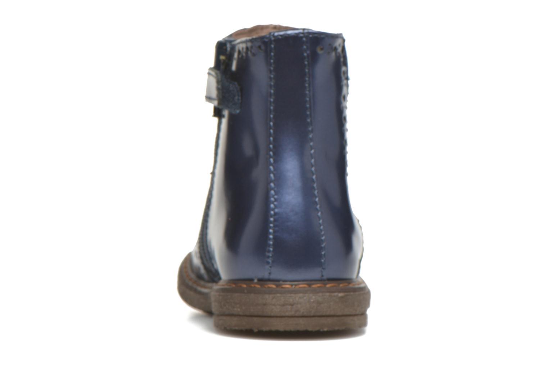 Bottines et boots Stones and Bones Ople Bleu vue droite
