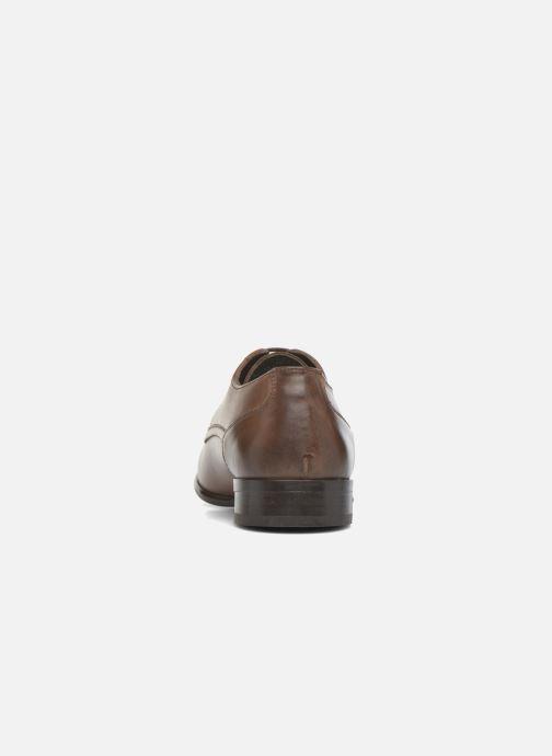 Chaussures à lacets Base London Morse Marron vue droite