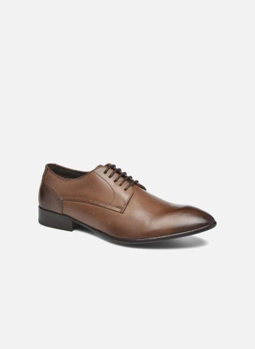 Chaussures à lacets Base London Morse Marron vue détail/paire