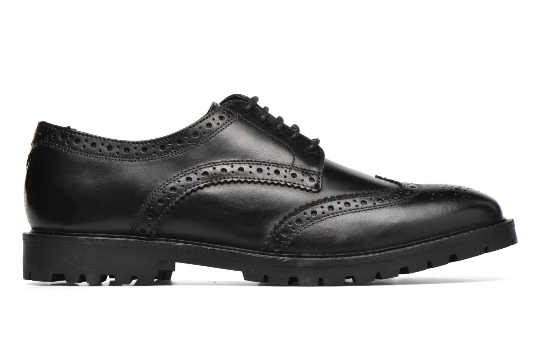 Chaussures à lacets Base London Trench Noir vue derrière