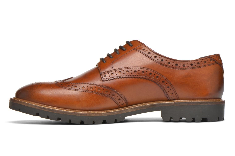 Chaussures à lacets Base London Trench Marron vue face