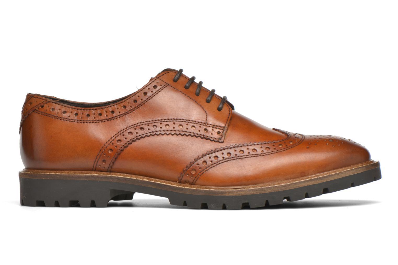 Chaussures à lacets Base London Trench Marron vue derrière