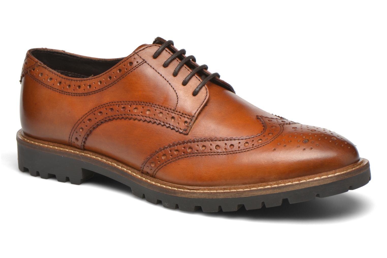 Chaussures à lacets Base London Trench Marron vue détail/paire