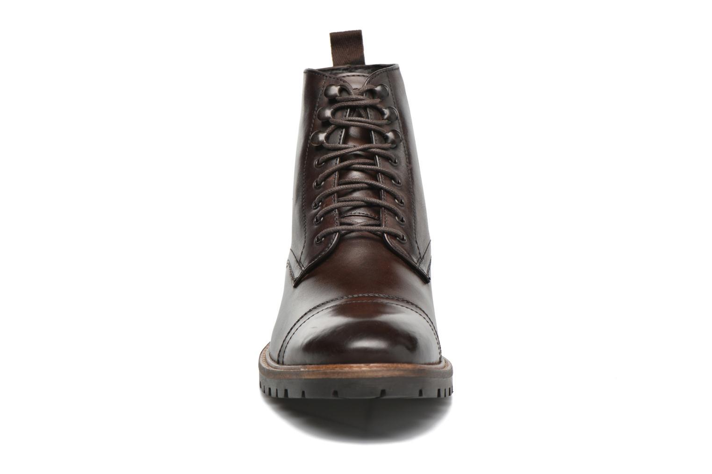 Bottines et boots Base London Siege Marron vue portées chaussures