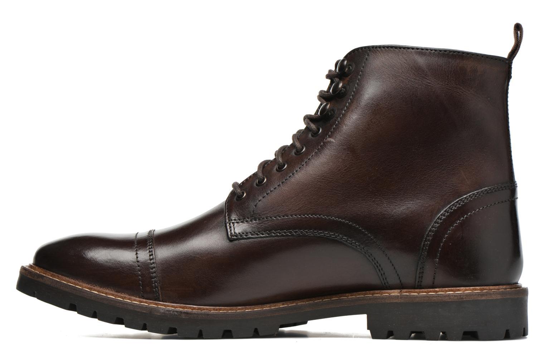 Bottines et boots Base London Siege Marron vue face