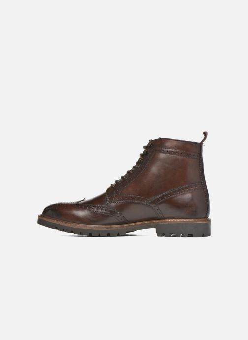 Boots en enkellaarsjes Base London Troop Bruin voorkant