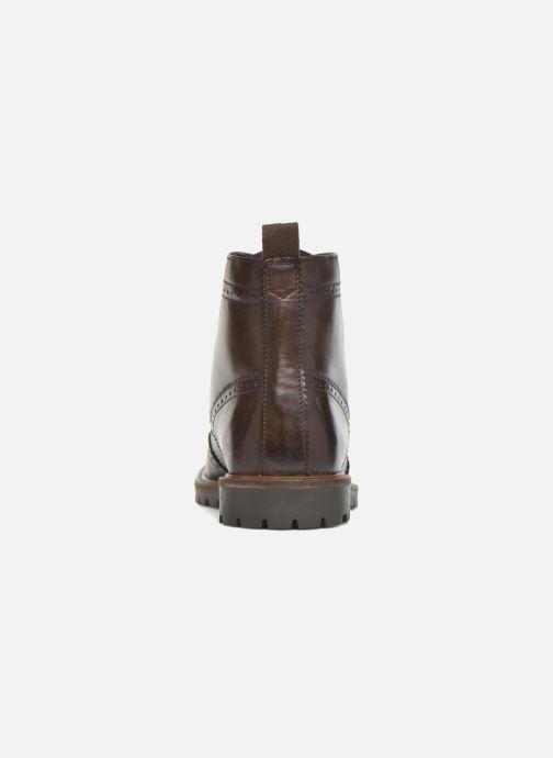 Boots en enkellaarsjes Base London Troop Bruin rechts