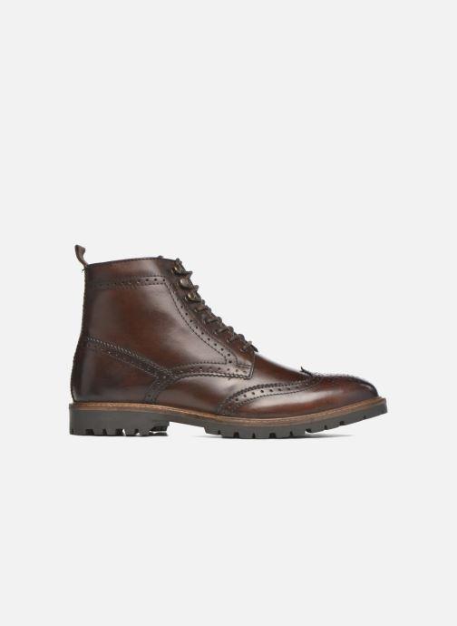 Boots en enkellaarsjes Base London Troop Bruin achterkant