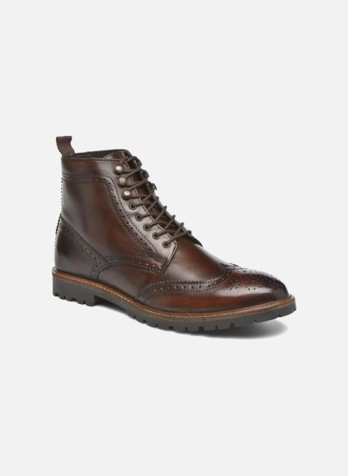 Boots en enkellaarsjes Base London Troop Bruin detail