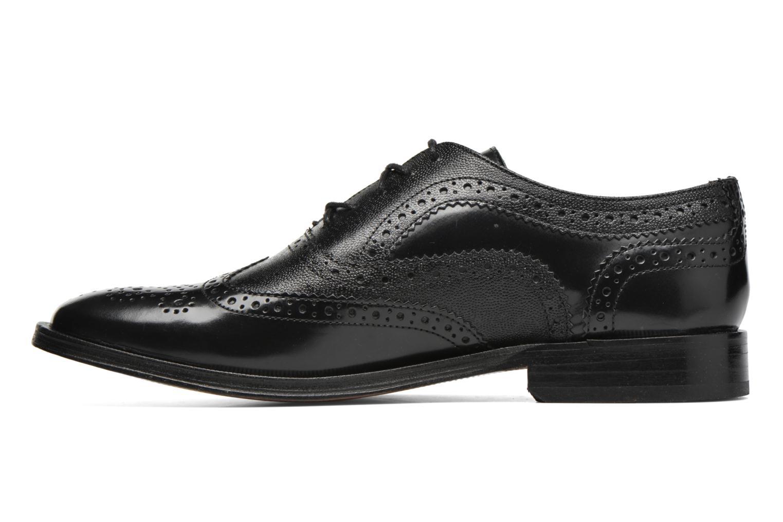 Chaussures à lacets Base London Strand Noir vue face