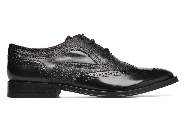 Chaussures à lacets Base London Strand Noir vue derrière