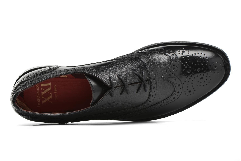 Chaussures à lacets Base London Strand Noir vue gauche
