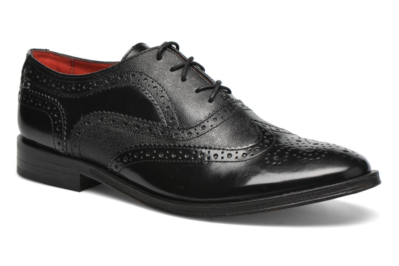 Chaussures à lacets Base London Strand Noir vue détail/paire