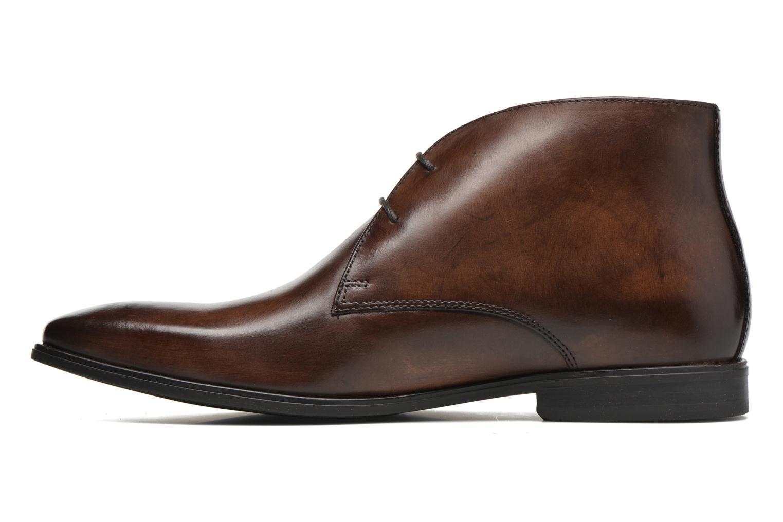 Chaussures à lacets Base London Henry Marron vue face
