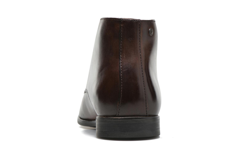 Chaussures à lacets Base London Henry Marron vue droite