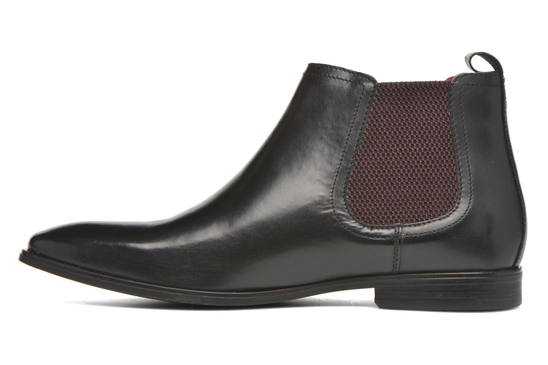 Bottines et boots Base London William Noir vue face