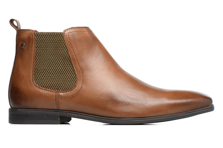 Bottines et boots Base London William Marron vue derrière