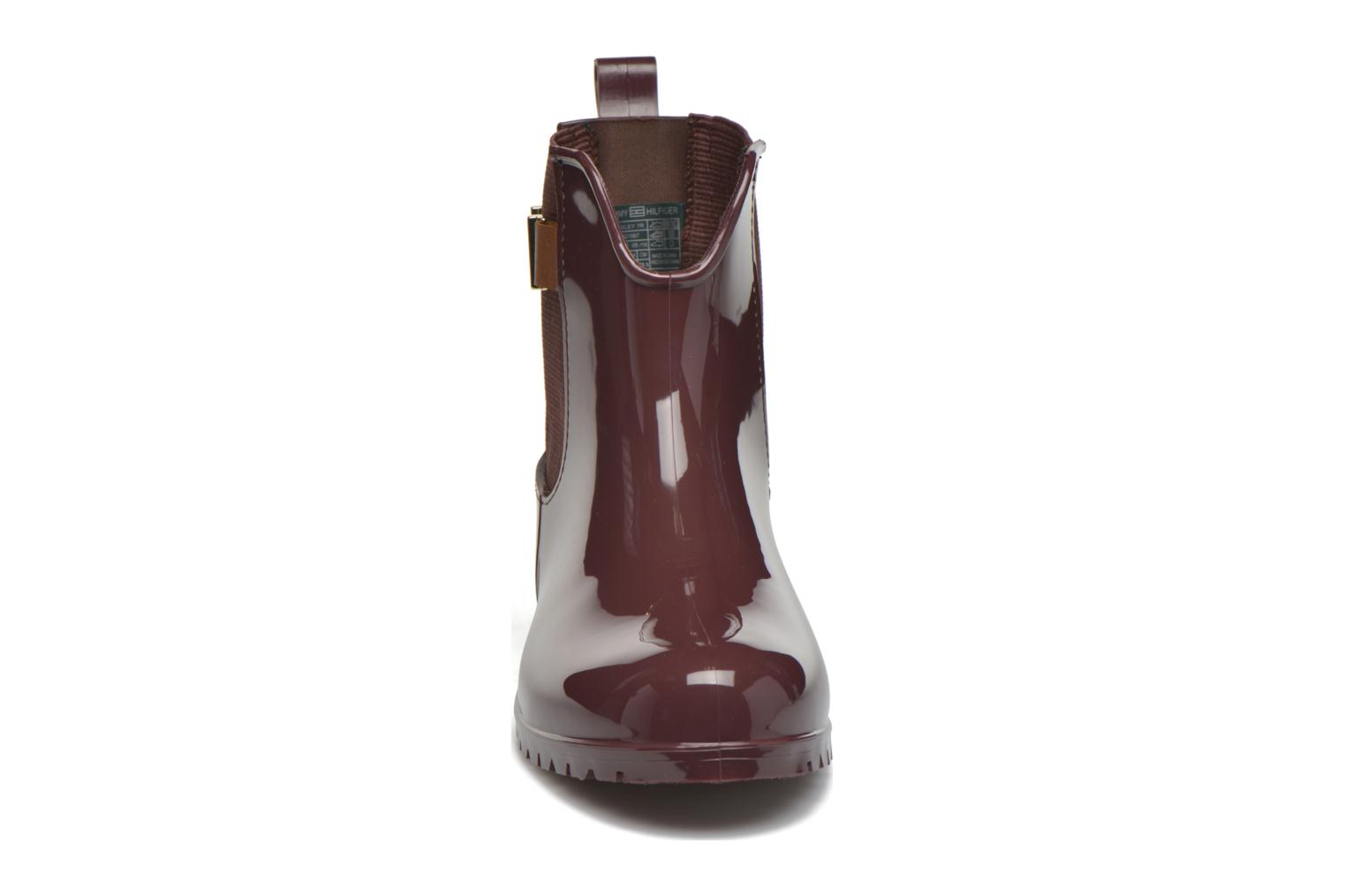 Boots en enkellaarsjes Tommy Hilfiger OXLEY 7R Bordeaux model