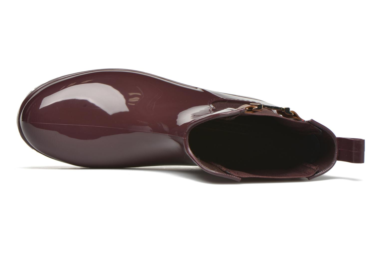 Boots en enkellaarsjes Tommy Hilfiger OXLEY 7R Bordeaux links