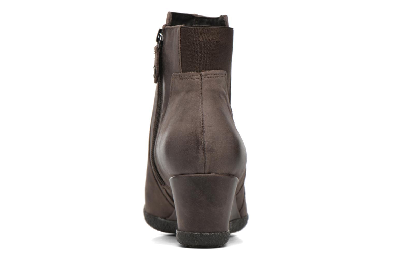Bottines et boots Geox D AMELIA ST B D6479B Marron vue droite