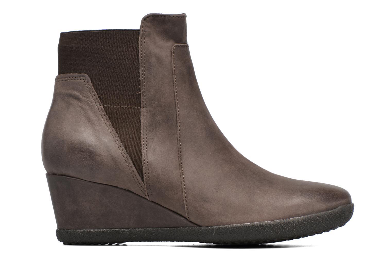 Bottines et boots Geox D AMELIA ST B D6479B Marron vue derrière