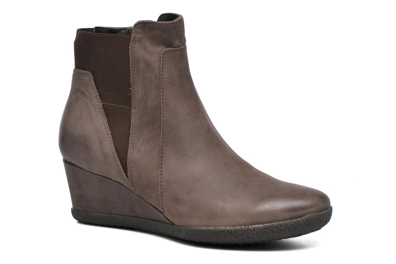 Bottines et boots Geox D AMELIA ST B D6479B Marron vue détail/paire