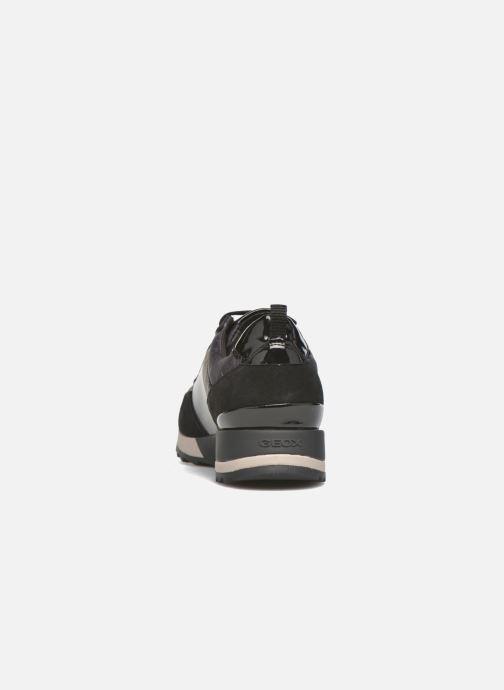 Geox D ANEKO B ABX A D643FA (schwarz) Sneaker bei Sarenza