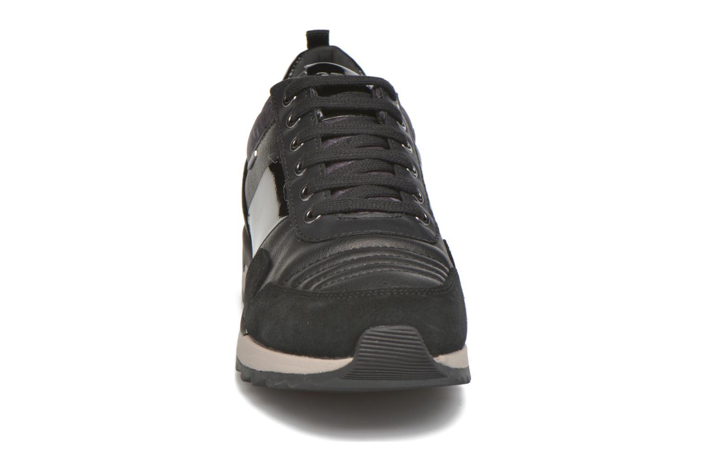 Baskets Geox D ANEKO B ABX A D643FA Noir vue portées chaussures