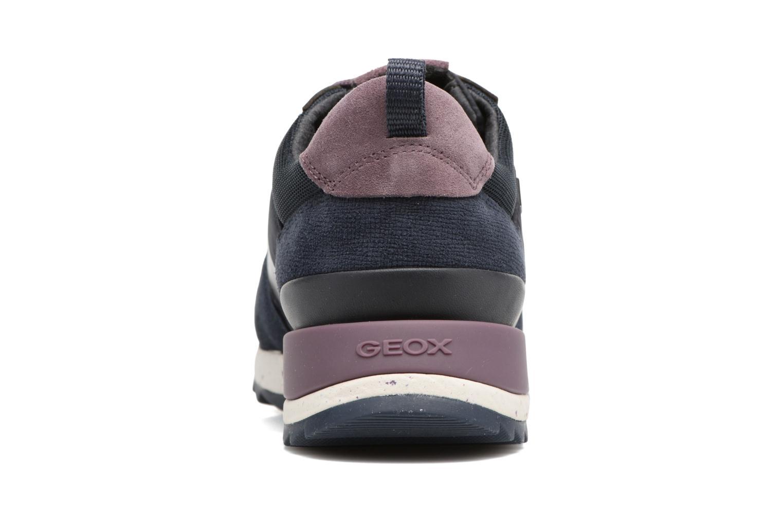 Baskets Geox D ANEKO B ABX A D643FA Bleu vue droite