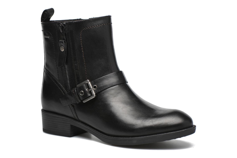 D64X9A D Geox et A Sarenza chez Noir ABX FELICITY Bottines boots PqffI1
