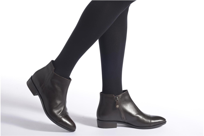 Bottines et boots Geox D LOVER B D640CB Noir vue bas / vue portée sac