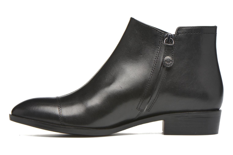 Bottines et boots Geox D LOVER B D640CB Noir vue face