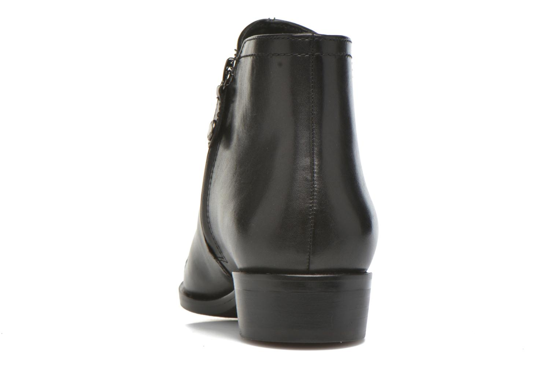 Bottines et boots Geox D LOVER B D640CB Noir vue droite