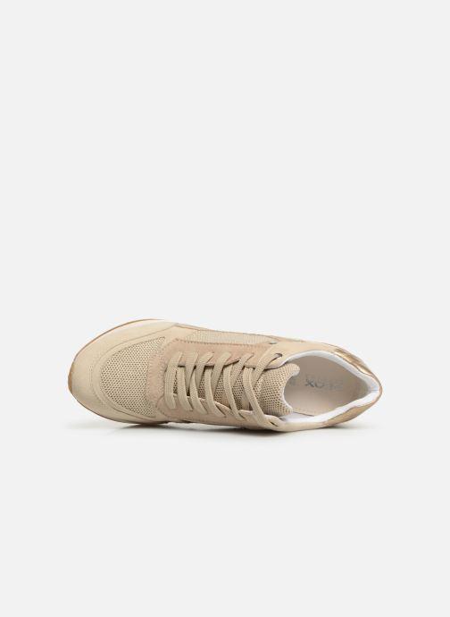 Sneakers Geox D NYDAME A D540QA Goud en brons links