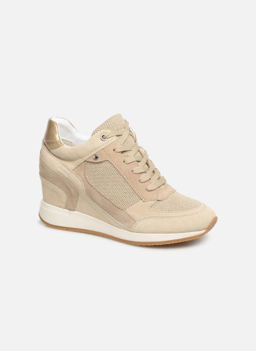 Sneakers Geox D NYDAME A D540QA Goud en brons detail