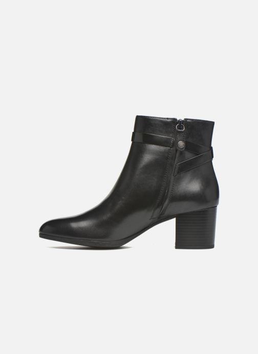 Geox D PETALUS C D642ZC (Noir) Bottines et boots chez