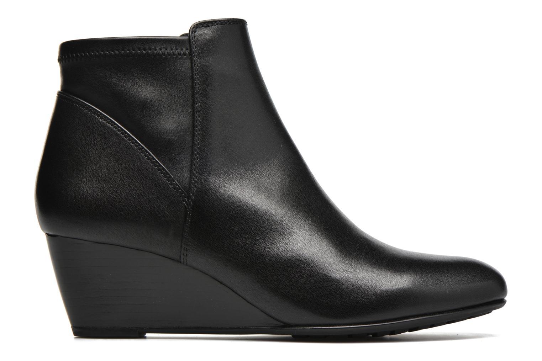 Bottines et boots Geox D VENERE A D64P8A Noir vue derrière